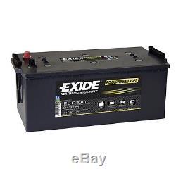 Slow Discharge Battery Exide Equipment Gel Es2400 12v 210ah 513x279x240mm