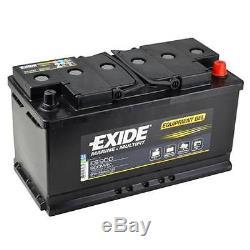 Slow Discharge Battery Exide Equipment Gel Es900 12v 80ah 353x175x190mm