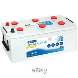 Slow Discharge Battery Exide Et1600 Equipment 12v 230 Ah