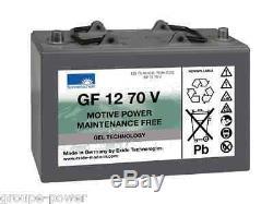 Slow Discharge Battery Gel Exide Sonneschein Gf 12 070v 12v 79ah