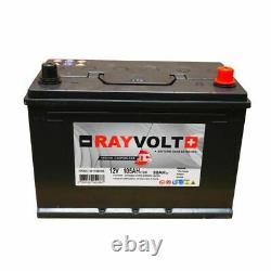 Slow Discharge Battery Rayvolt 12v 105ah
