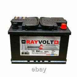 Slow Discharge Battery Rayvolt 12v 80ah