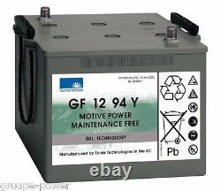 Slowcharge Battery Gel Exide Sonneschein Gf 12 094y 12v 110ah