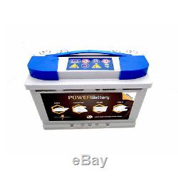 Solar Stationary Battery Ready To Use Slow Discharge 12v 88ah Agm