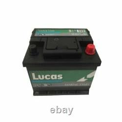 Start-up Battery And Slow Discharge For Leisure/camping-cars 12v 50ah / 440