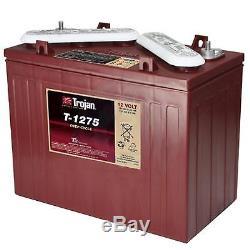 Trojan T1275 Battery Discharge Slow Boat Golf 2 Years Warranty