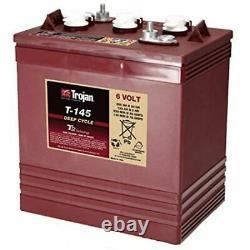 Trojan T145 6v 260ah Slow Discharge Battery