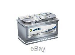 Varta Agm La80 Discharge-slow Battery