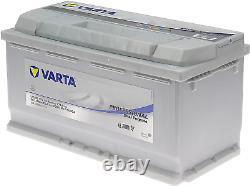 Varta Professional Decharge Lente Lfd90 Boat Battery, Camping-cars, Leisure