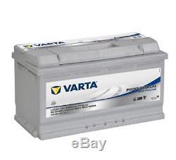 Varta Professionnal Lfd90 Lfd Battery Recharge Boats, Motorhomes