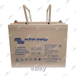 Victron Agm Super Slow Discharge Battery Cycle 12v 100ah 260x168x215mm