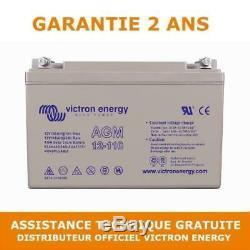 Victron Energy Agm Leisure Battery Discharge Slow 12v / 110ah Bat412101085