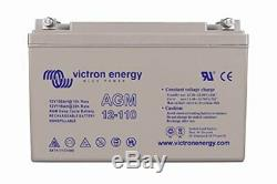 Victron Energy Agm Leisure Battery To Slow Discharge 12v / 110ah Bat412101084