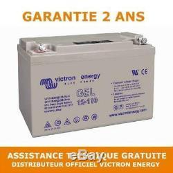 Victron Energy Gel Leisure Battery Slow Discharge 12v / 110ah Bat412101104