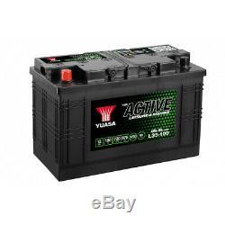 Yuasa 12v L35100ah slow Discharge Battery Buy New 7 January 2020 Warranty