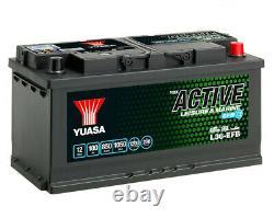 Yuasa L36-efb Battery Slow Discharge For Caravan And Camping Car 12v 100ah