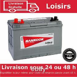 12V 90Ah Batterie Décharge Lente Pour Caravane, Camping Car et Bateau DC27
