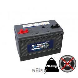 130Ah 12V Batterie de bateau / marine à cycle profond Décharge Lente