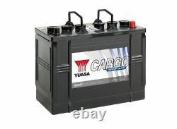 655HD Yuasa Cargo Résistant Batterie 12V 125Ah