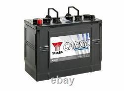 656HD Yuasa Cargo Résistant Batterie 12V 125Ah, Batterie Masters