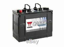 656hd Yuasa Coffre Résistant Batterie (62514) 12v 125ah 720cca