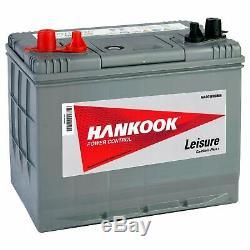 80Ah 12V Batterie Decharge Lente pour recharge Bateau Caravane Camping Car Auto