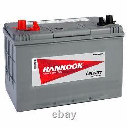 80Ah 12V Batterie de Decharge Lente Pour Caravane, Camping Car et Bateau