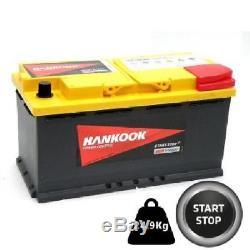 95Ah AGM Batterie Decharge Lente / Loisir 12Volt, Varta LFD90