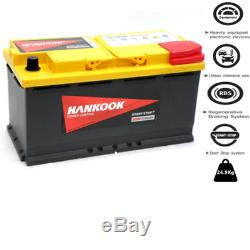 95Ah AGM Batterie Decharge Lente Loisir Camping Car 12V, LFD90 354 x 175 x190mm