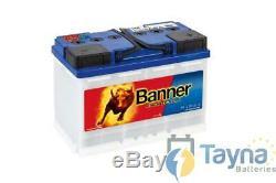 Banner Energy Bull Batterie Camping Bateau 95601 12V 80Ah