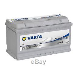 Batterie 12v 90ah bateau Varta LFD 90 idéal panneaux solaires