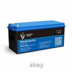 Batterie 200ah 12v Gel décharge Lente-Ultimatron