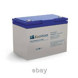 Batterie 50ah 12v Gel décharge Lente-Ecowatt