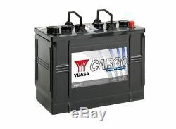 Batterie Bateau, Camion, Décharge Lente 655HD 12V 125Ah 720A Yuasa HD
