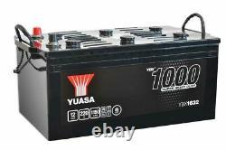 Batterie Bateau, Camion, Décharge Lente Yuasa Smf YBX1632 625SHD 12V 220Ah 1150A