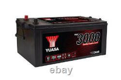 Batterie Bateau, Camion, Décharge Lente Yuasa Smf YBX3625 625SHD 12V 220Ah 1150A