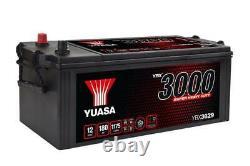 Batterie Bateau, Camion, Décharge Lente Yuasa YBX1629 629SHD 12V 180Ah 1100A