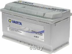 Batterie Bateaux VARTA Lfd90 Professionnal Decharge Lente, 12V 90Ah 800Amps NEUF