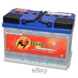 Batterie Camping Car Décharge Lente 12v 100ah Banner Energy Bull