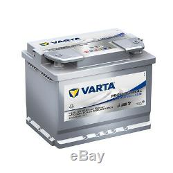 Batterie Camping car Varta LA60 12V 60AH 680A 840060068 242X175X190mm