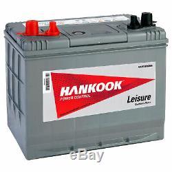 Batterie De Décharge Lente Pour Caravane, Camping Car Et Bateau 80 Ah 12 V
