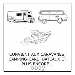 Batterie Décharge Lente Hankook XV110 Pour Caravane & Camping Car 12V 110AH