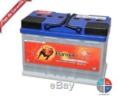 Batterie Décharge lente 12v 80ah C20 Banner Energy Bull 95601