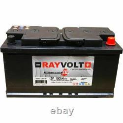 Batterie Demarrage Auto Voiture Decharge lente 12V 100AH