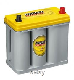 Batterie Dual Sprial Cell OPTIMA YELLOW TOP YT R 2.7 12V 38AH 460 AMPS (EN)