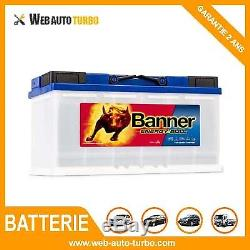Batterie Energy Bull 95751 12V 100Ah BANNER Camping car décharge lente