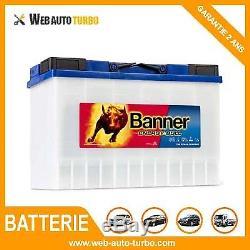 Batterie Energy Bull 95901 12V 115Ah BANNER camping car décharge lente
