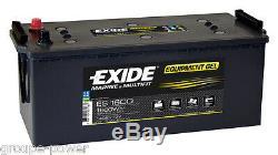 Batterie GEL Exide ES1600 12v 140ah decharge lente camping car, bateau, solaire