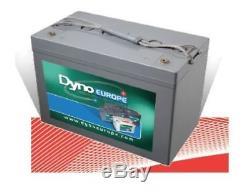 Batterie Gel Dyno Europe Haze 105ah décharge lente spéciale cellule camping car