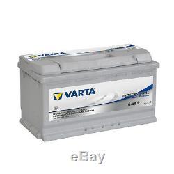 Batterie Varta LFD90 12v 90ah camping car idéal panneaux solaires